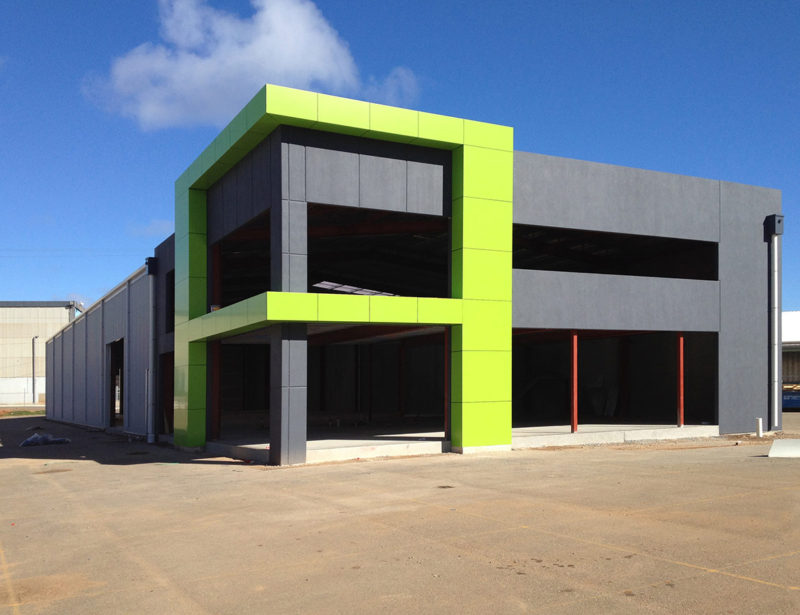 Key Constructions SA - Architecurally Designed Commercial Warehouse